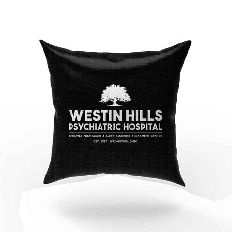 Westin Hills Psychiatric Hospital Pillow Case Cover