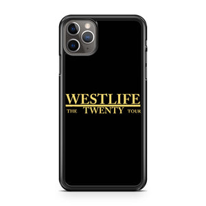 Westlife The Twenty Tour iPhone 11 Pro Max Case