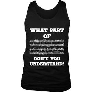 What Part Of Dont You Understand Women's Tank Top