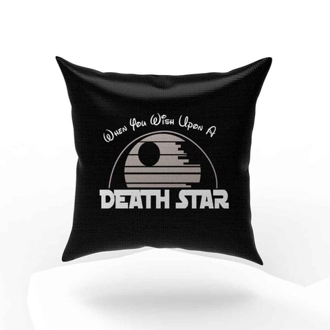 When You Wish Upon A Death Star Pillow Case Cover