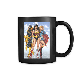 Wonder Woman Batwoman Superwoman Girl Lgbt 11oz Mug