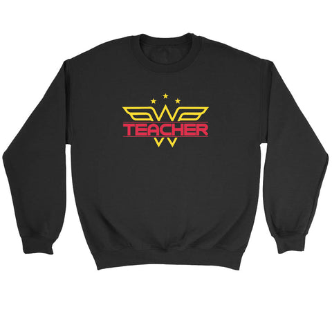 Wonder Woman Teacher Sweatshirt