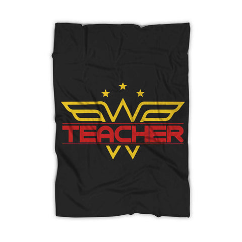 Wonder Woman Teacher Blanket
