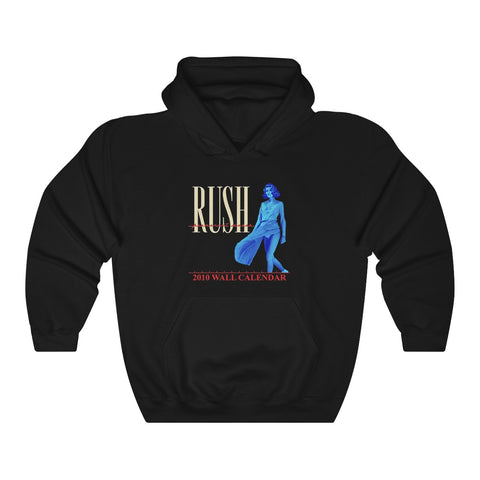 Rush World Tour 1980 Black Band New Official Unisex Hoodie