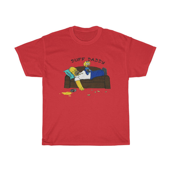 Duff Daddy The Simpsons Mens T Shirt