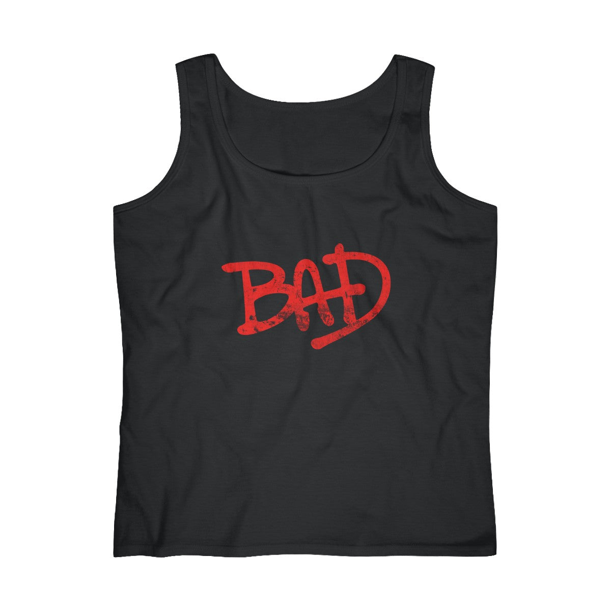 Bad Michael Jackson Logo Thriller 80S King Of Pop Dance Womens Tank Top