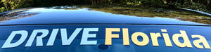 Drive Florida Windshield Banner Sticker