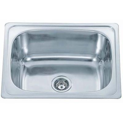 610 x 510mm Polished Stainless Steel Inset Sink (A28 Sterling)