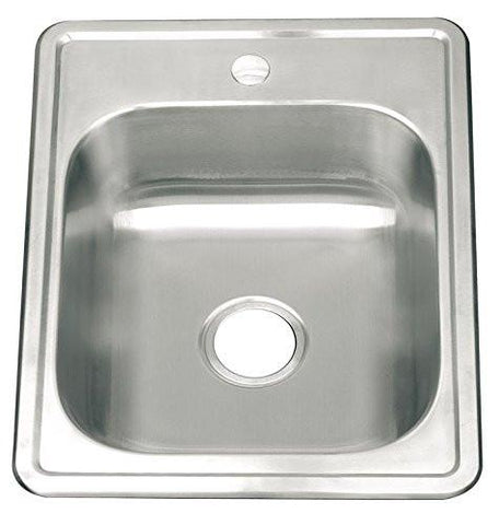 558 x 432mm Brushed Inset Stainless Steel Sink (A82 bs)