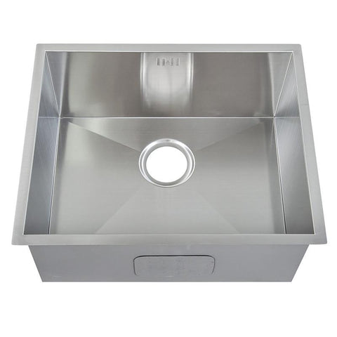 540 x 440 mm Undermount Deep Single Bowl Handmade Stainless Steel Sink (DS007)
