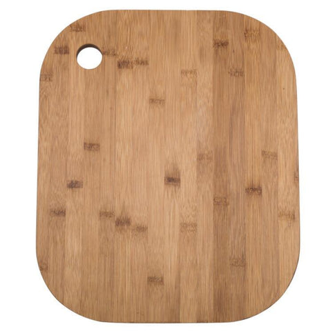 Wire Basket & Bamboo Chopping Board