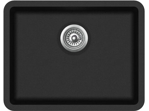 585mm x 460mm Single Bowl Undermount/Inset/Flushmount Composite Sink CS003