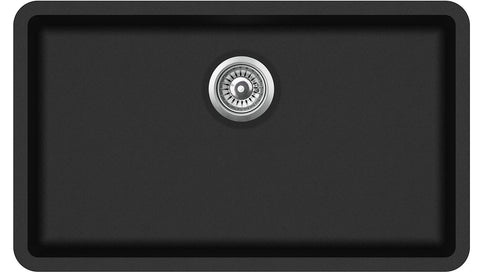 810mm x 480mm Large Single Bowl Undermount/Inset/Flushmount Composite Sink CS004
