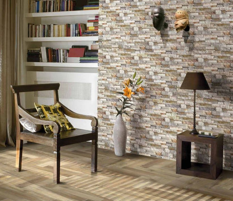 Kerastone Lavaredo Split Face Interlocking Porcelain Wall Tile