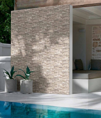 Kerastone Cervino Split Face Interlocking Porcelain Wall Tile