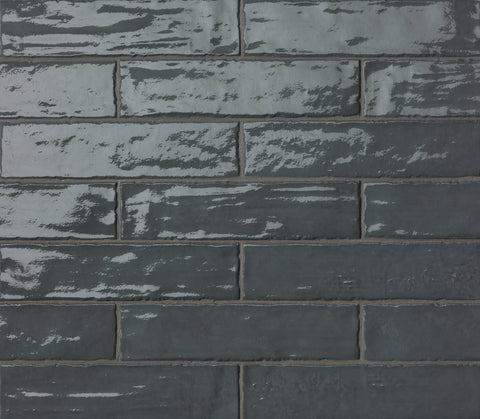 Carbon Brillante Italian Porcelain Tiles (IT0001)