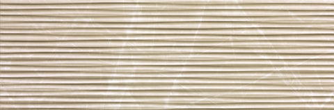 Line Beige Duna Brillante Italian White Body Tiles (IT0070)