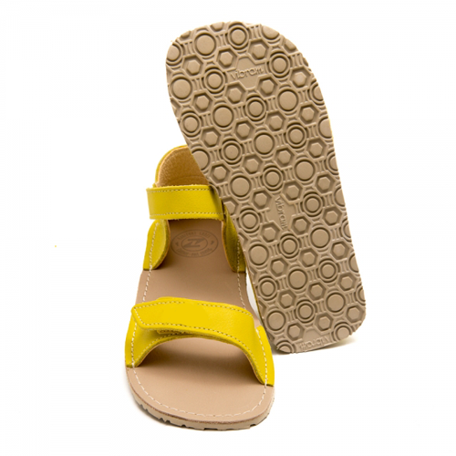 Sole of ZeaZoo Ariel sandals. healthy minimalist shoes for kids