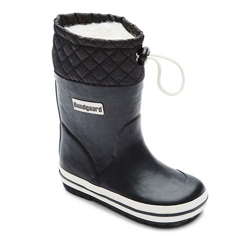Photo of Black Bundgaard Rubber Sailor Boot Warm Winter Boot WaterProof Black