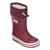 Photo of Bundgaard Minimalist Rubber Waterproof Boot for kids single boot in Bordeaux