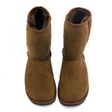 ZeaZoo Dingo Barefoot Boots Adult Brown