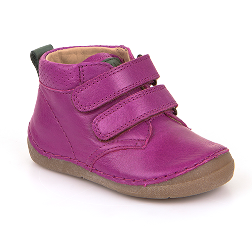 A top view of children's minimalist shoe from Froddo healthy kids shoes in pink