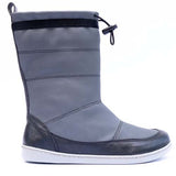 Picture of KIUU Calisto Waterproof vegan winter boots that are minimalist for kids in antracite gray