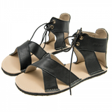 Black Nymph ZeaZoo Sandals minimalist sandal for woman
