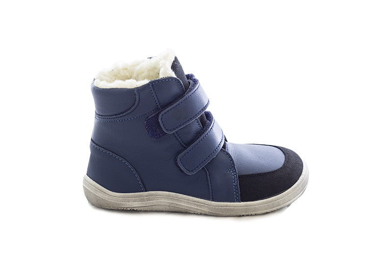 Baby Bare Febo Winter Boots Navy