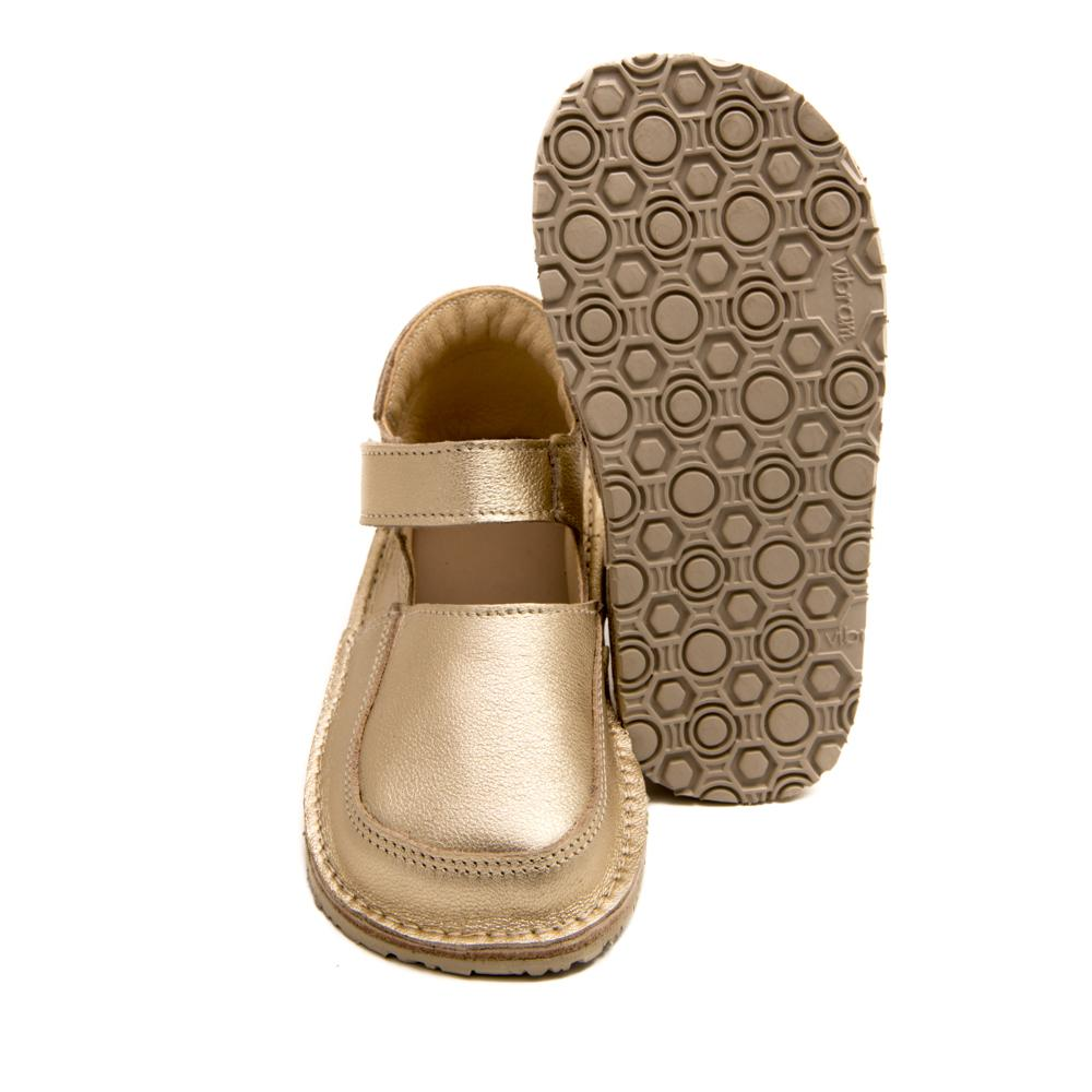 Vibram sole picture on ZeaZoo IBIS mary janes minimalist healthy shoes for girls