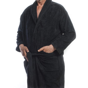 Club Classique Velour Bathrobes - various sizes - White, Stone or Black