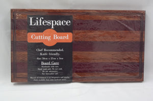 Lifespace Premium Cedrona & Purple Heart Hardwood Cutting Board