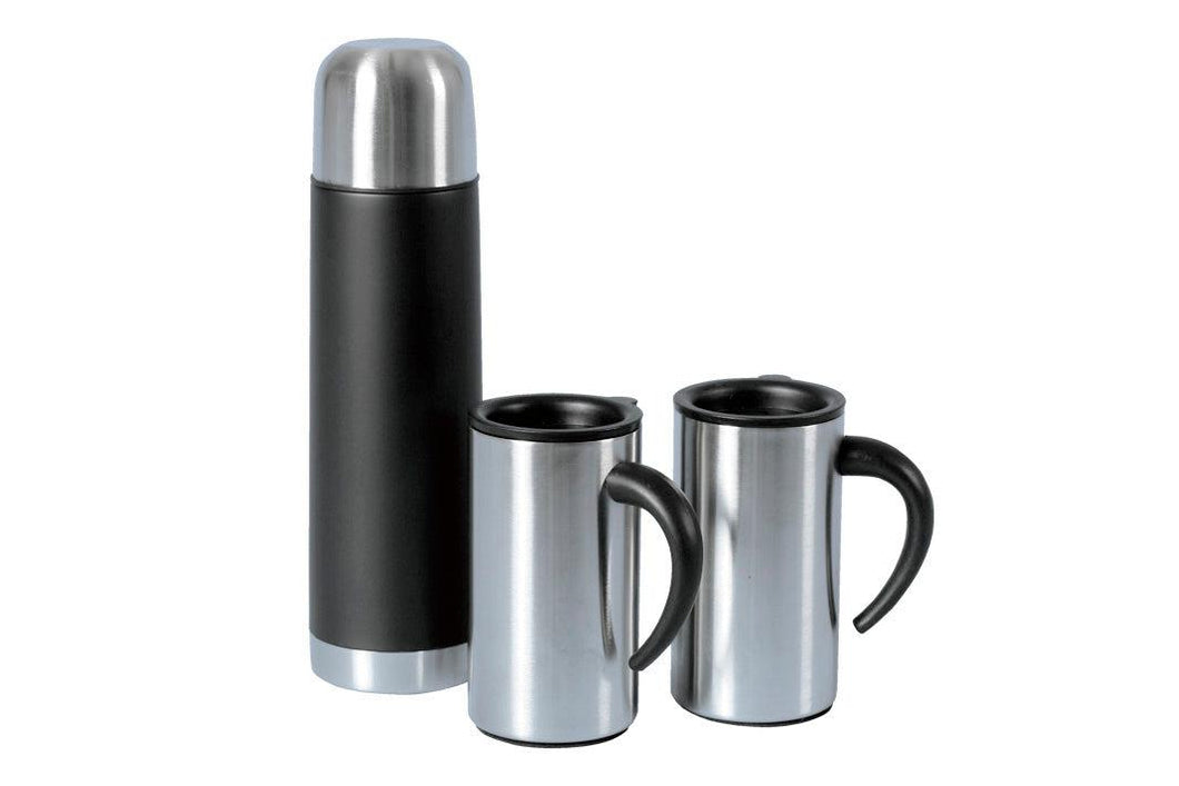 Flasks and 2 Cup Gift Set
