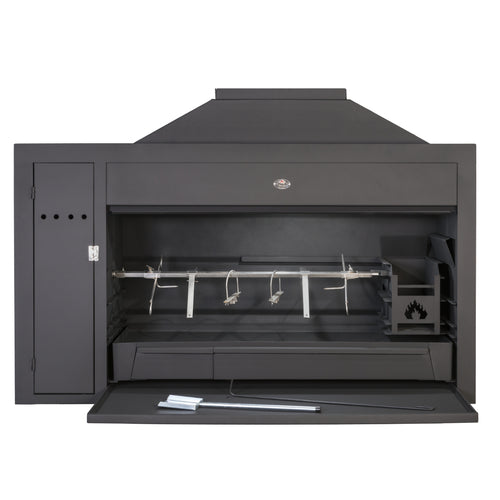 Home Fires Built-In Braai 1500 Spit Super De Luxe