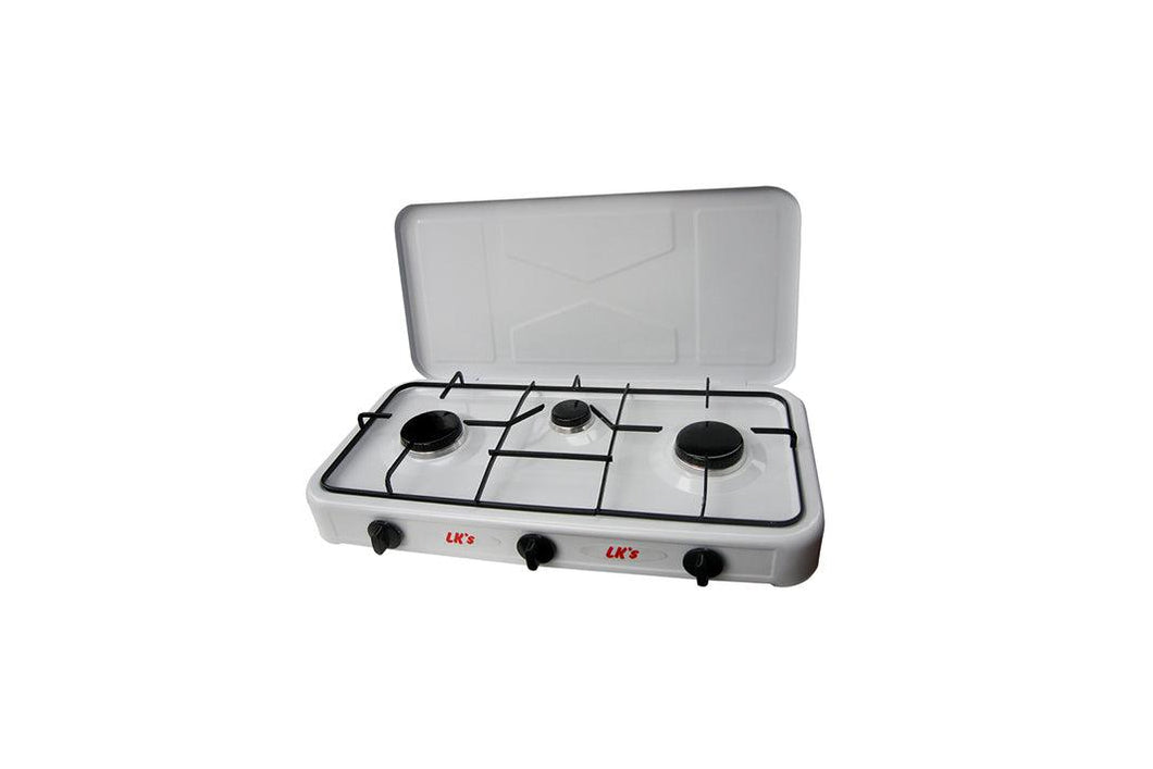 Hotplate With Lid 3 Burner