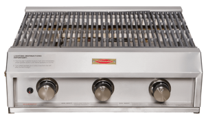 Jetmaster 3 burner shallow gas grill