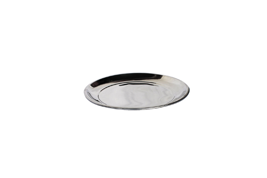 Dinner Plate - 25cm - 430 Stainless Steel