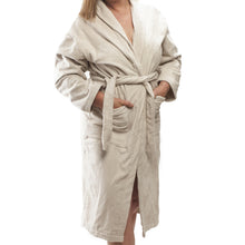 Load image into Gallery viewer, Club Classique Velour Bathrobes - various colours & sizes