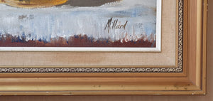 "A beautiful original signed and framed ""Pieter Millard 1936-2017"" still life oil painting."
