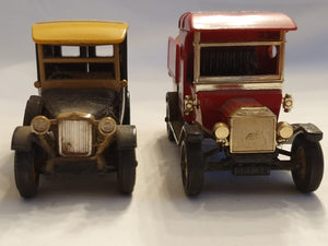 An amazing set of two Matchbox cars in great condition