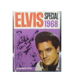 An Elvis special 1968 book with news and pictures