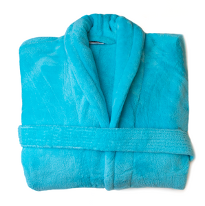 Club Classique Coral Fleece Bathrobes - various colours & sizes