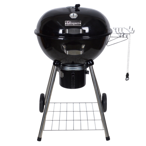 Lifespace 57cm Premium Charcoal Kettle Braai & Grill - TOP SELLER!