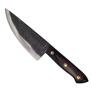 A vintage Green rustic metal leaf candle holder