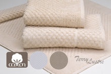 Load image into Gallery viewer, Terry Lustre Waffle Weave Bath Mat - Made in South Africa 1070gsm