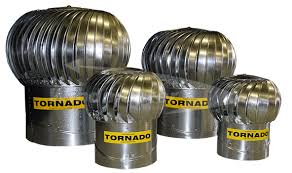 Windmaster Tornado 610mm Turbine Ventilator - Various Material Options