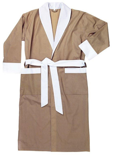 Club Classique Percale Collar Bathrobes - various colours & sizes