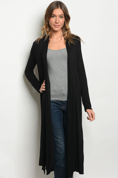 Shop the Trends Black Cardigan