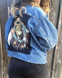 Upgraded 1 of 1 Vintage 90s Levis Jacket with patch