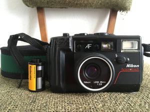 Nikon Action Touch 35mm Film Camera